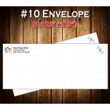 "#10 Peel-n-Seal Security Envelopes (Custom Printed 4.125"" x 9.5"")"