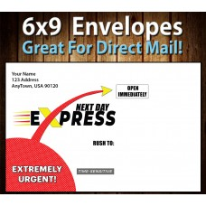 "6"" x 9"" Express Envelopes"