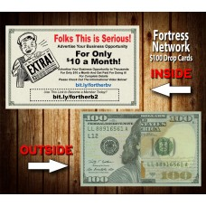 Fortress Network $100 Drop Cards