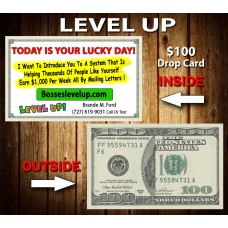 Level Up $100 Drop Card