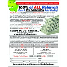 Matrix Pro Leads FULL-Page Flyer FB01