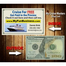 My Cruise Masters $100 Drop Cards