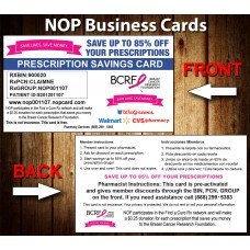 NOP Prescription Card BC-01