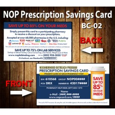 NOP Prescription Card BC-02
