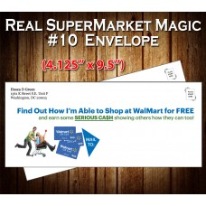 "Real Supermarket Magic Envelope (#10 - 4.125"" x 9.5"")"