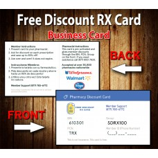 Free Discount RX Cards